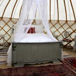 Roundhouse Yurts have a interior package for Wedding Nights.