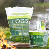 Logs Kiln dried hard wood  Certainly Wood £8 per bag