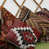 Turkish scatter cushions £8 each