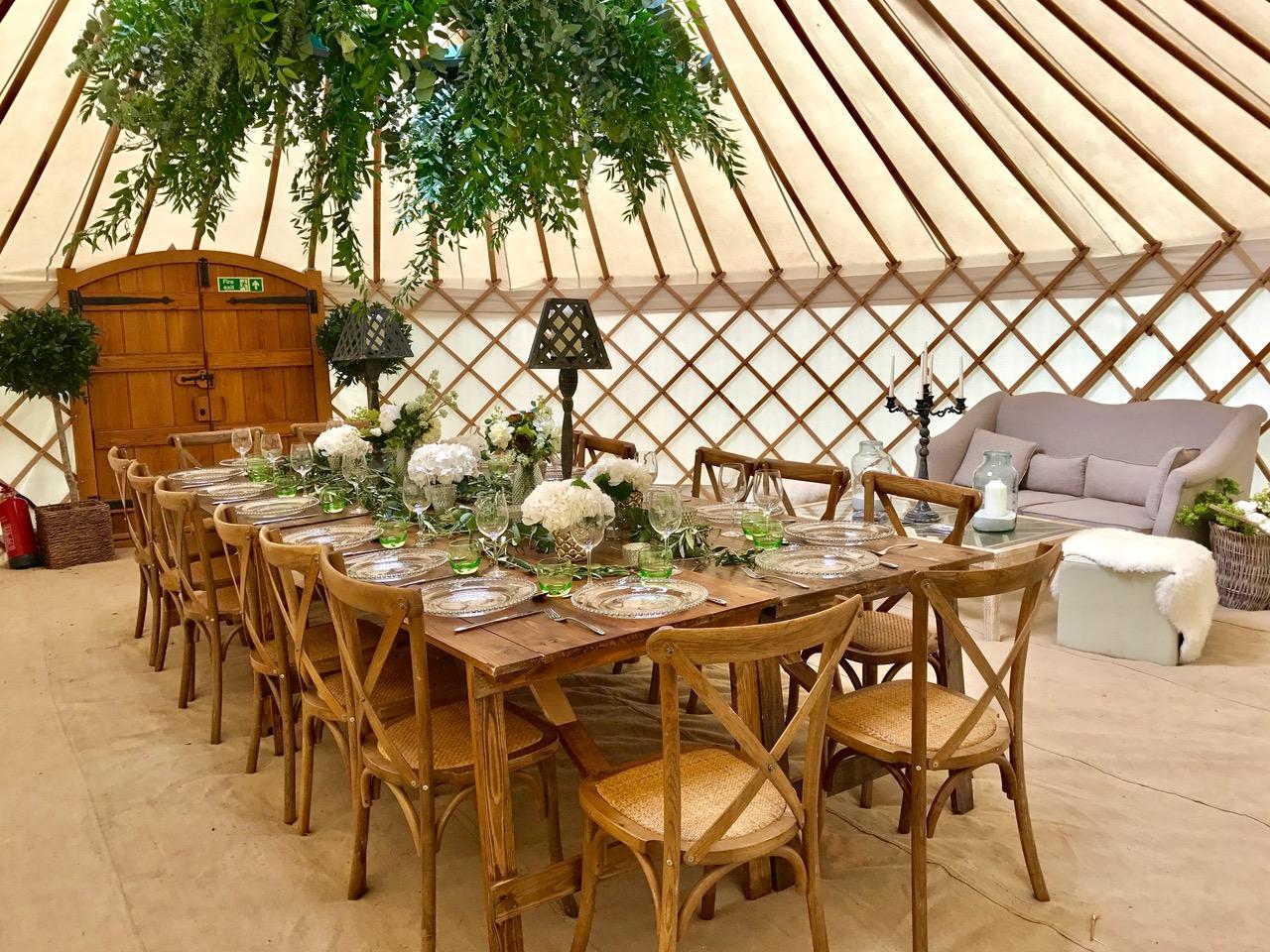 Roundhouse Yurts Wedding Party