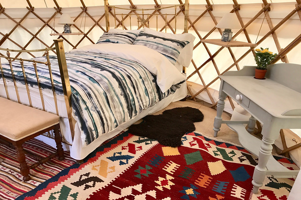 Roundhouse Yurts Accommodation