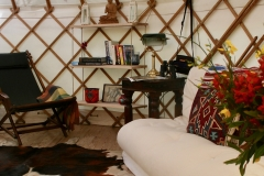 Yurt interiors with a touch of style and comfort from Roundhouse Yurts