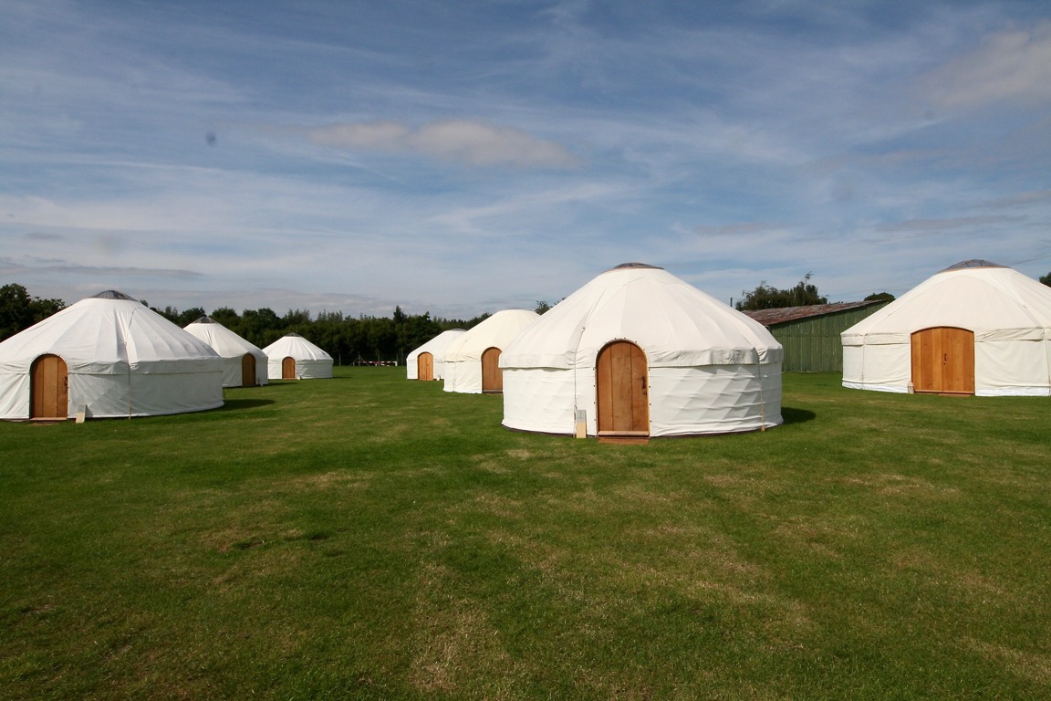 Roundhouse Yurts are perfect venue for parties and events.