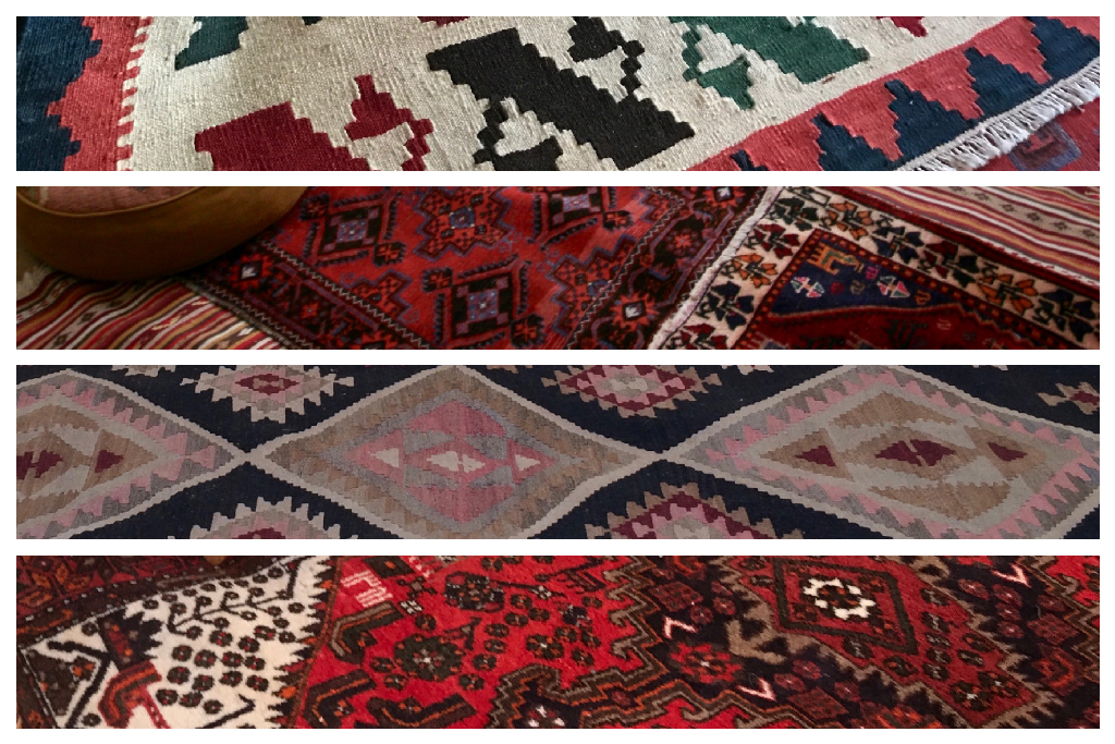 Persian & Killim Rugs available with a Roundhouse Yurt.