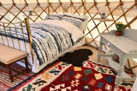 Roundhouse Yurts Accommodation