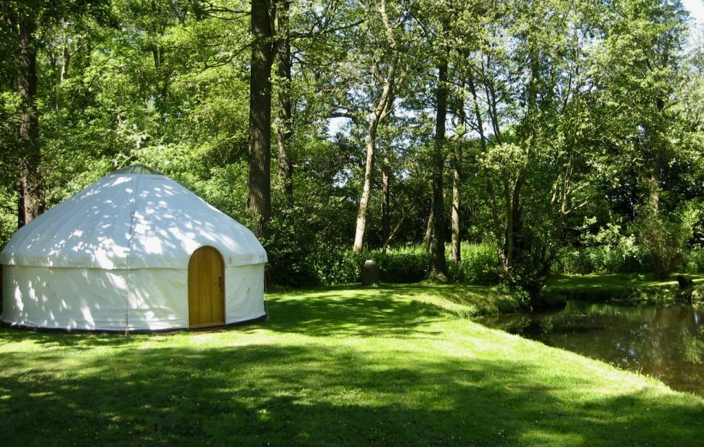 A yurt from the yurt makers workshop