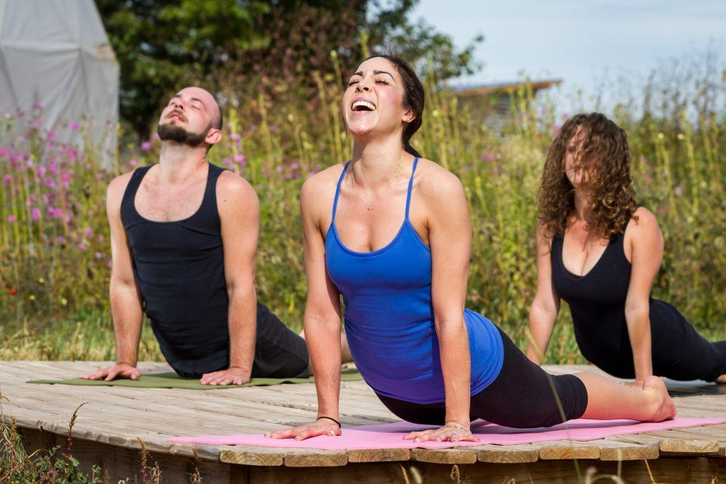 Yoga Yurts for hire