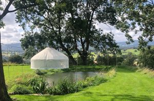 Wedding Night Yurt with a view