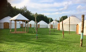 Lost Village Festival yurts