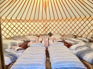 Sleepover Yurt